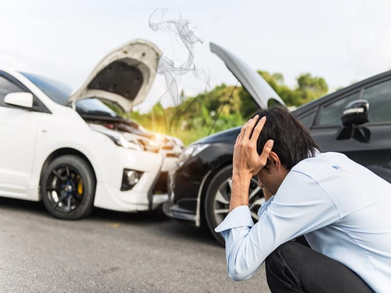 Car crashed: when to repair it